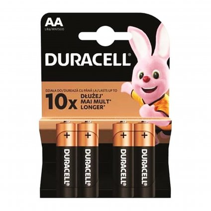 duracell basic duralock aa lr06 1500