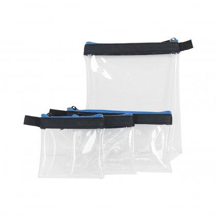 Orca Bags Transparent Accessories 4 Pouch set