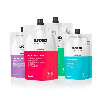 ILFORD Simplicity Kit ROW (sada chemie)