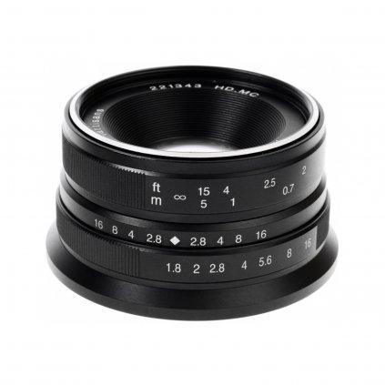 7Artisans MF 25mm / 1.8 Fuji X (APS-C) objektiv X-Mount