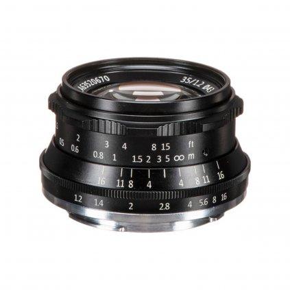 7Artisans MF 35mm / 1.2 Fuji X (APS-C) objektiv X-Mount