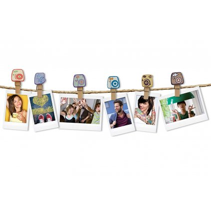 Fujifilm Instax Design Clips (10ks) Camera