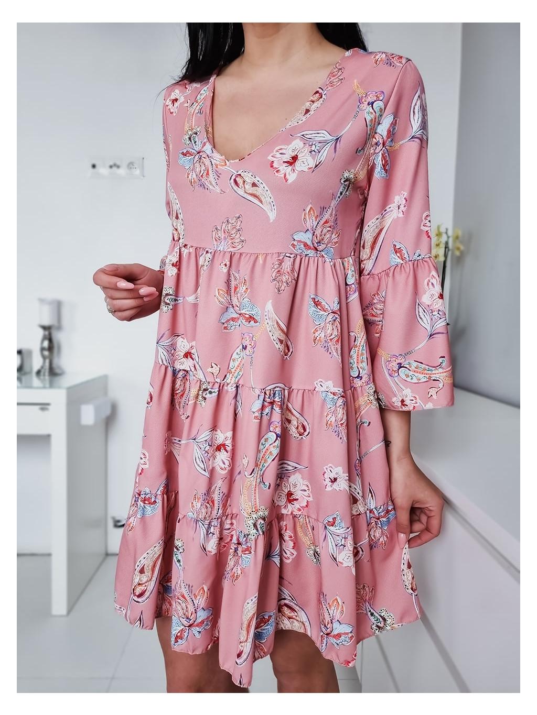 Dámske šaty Rubby - baby pink