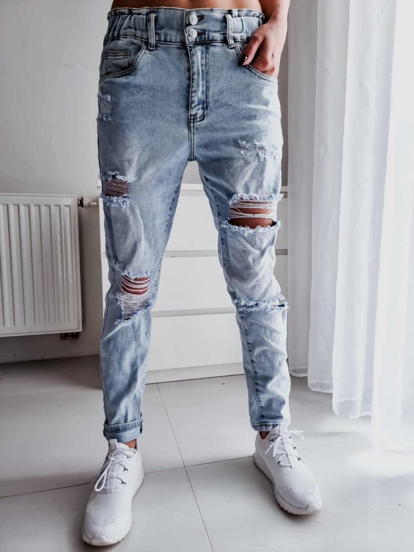 Boyfriend jeans 2767 - modré