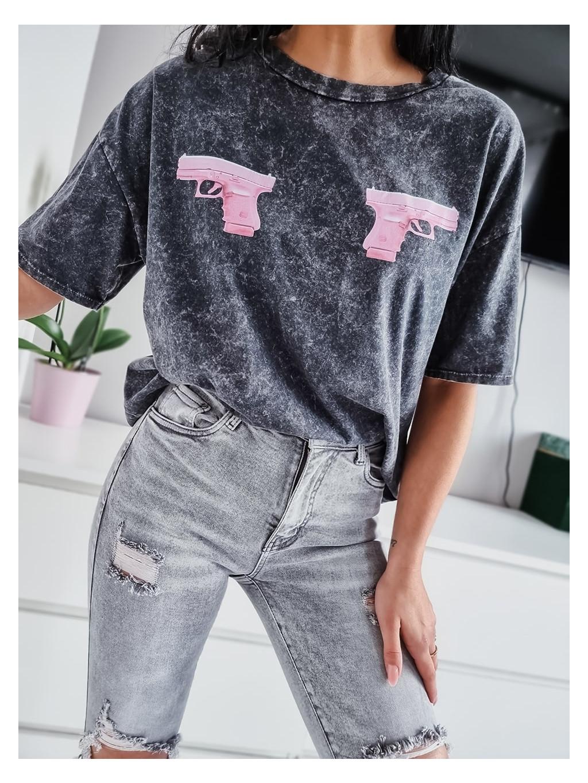 Dámske tričko GUNs - khaki