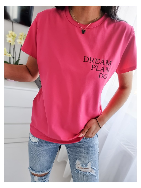 Dámske tričko Dream P.D - fuchsiové