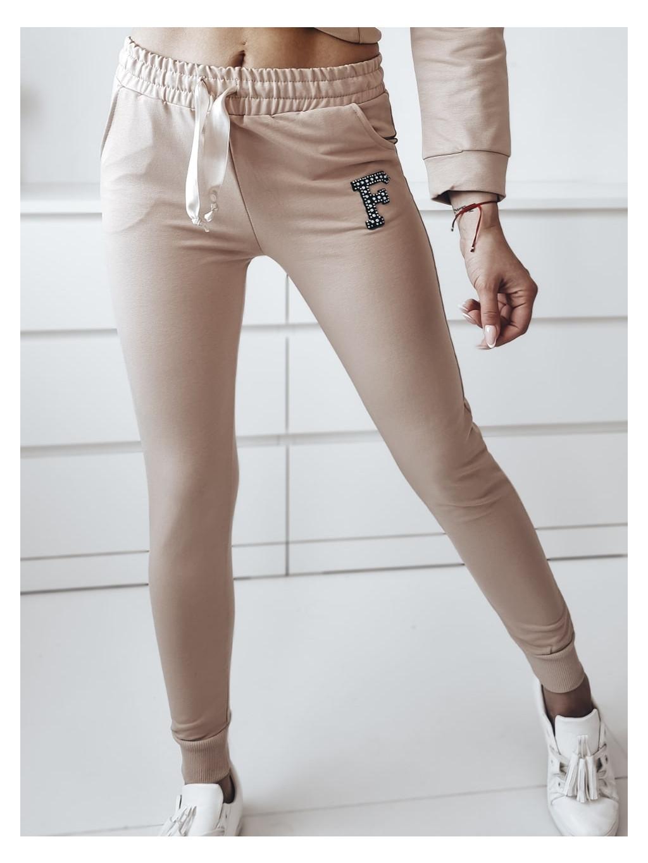 Teplákové nohavice Silver - nude