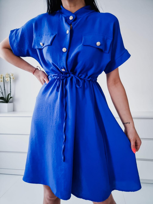 Dámske šaty Ramira - modré