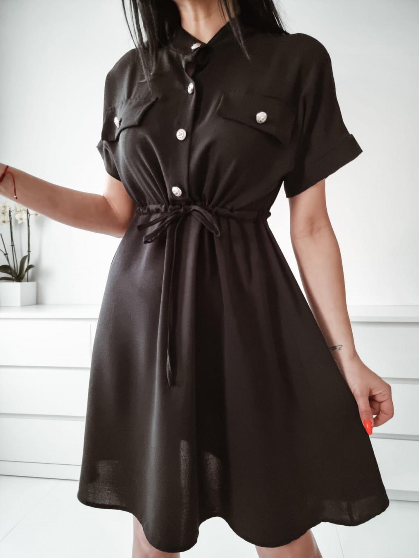Dámske šaty Ramira - čierne