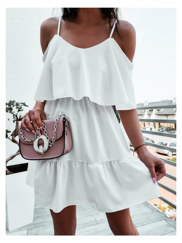 Dámske šaty Kamada - biele