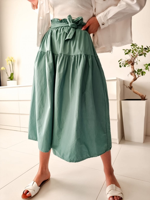Midi sukňa Sylvia - zelená