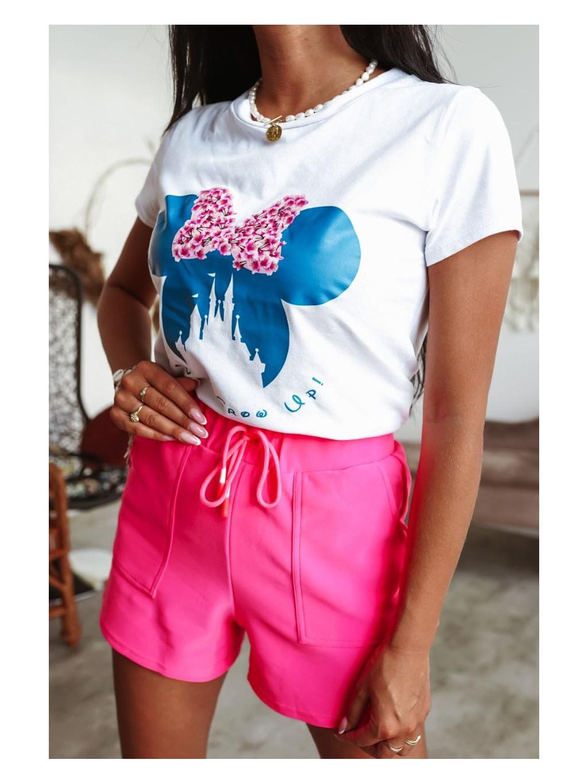 Dámske tričko Mickey Bloss - biele