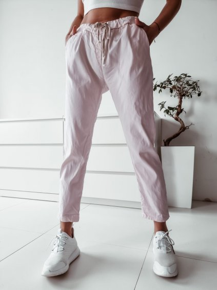 Dámske bavlnené nohavice Imagine -ružové
