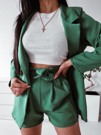 Letný nohavicový komplet Lara - zelený
