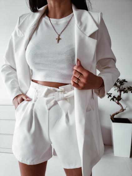 Letný nohavicový komplet Lara - biely