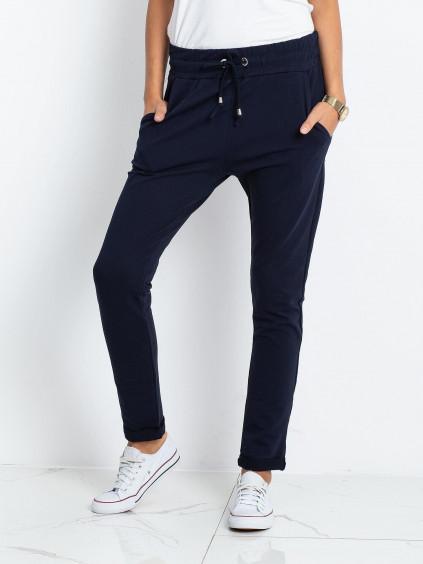 Teplákové nohavice Cadence - tmavomodré