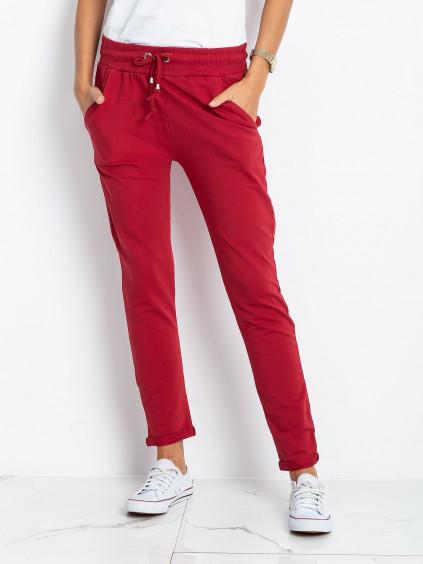 pol pl Bordowe spodnie Cadence 328230 1