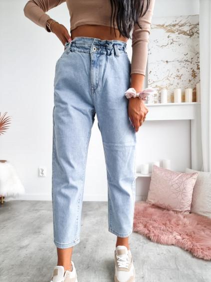 Mom jeans M.Sara - BS588 - modré