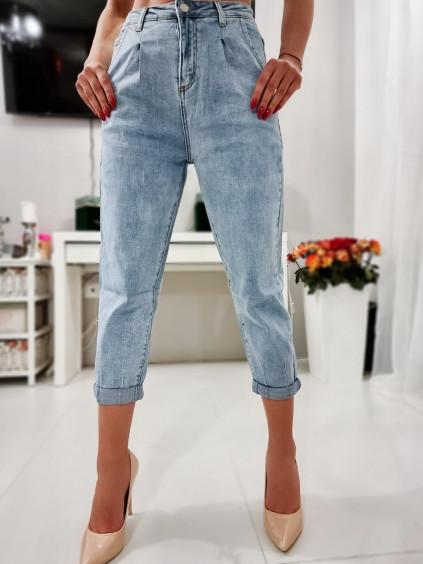 Mom jeans M.Sara - BF53-4 - modré