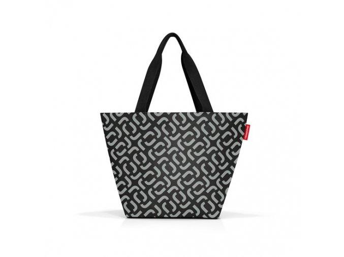 0056023 nakupni taska shopper m signature black 1 550