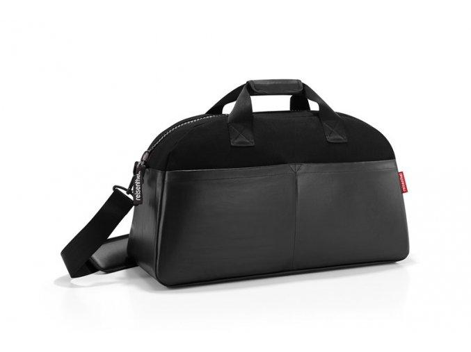 Cestovní taška Overnighter canvas black