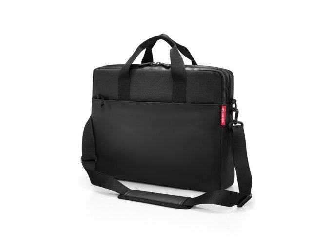 Všestranná aktovka Workbag canvas black