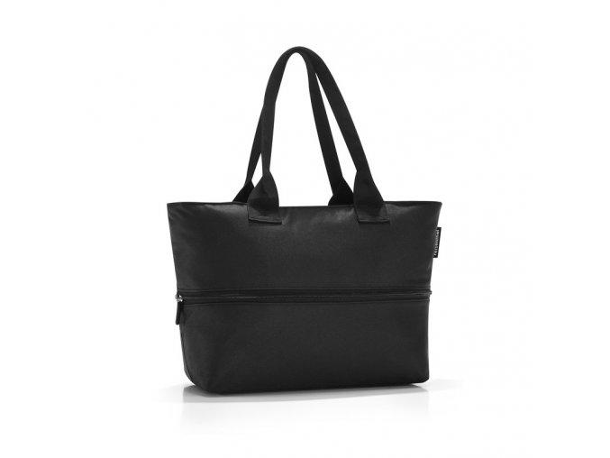 Chytrá taška přes rameno Shopper e1 black