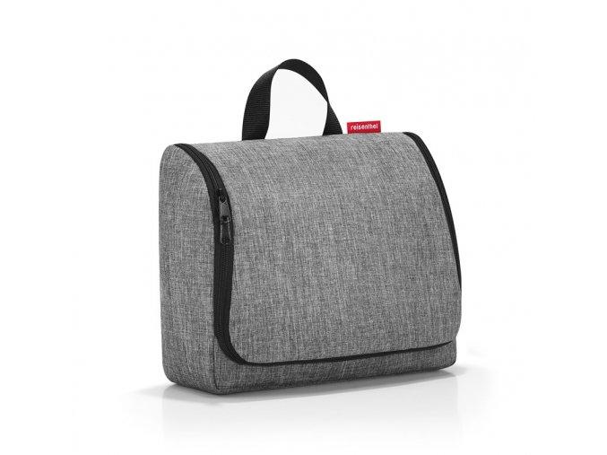 Kosmetická taška Toiletbag XL twist silver