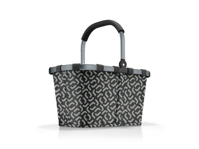 0092049 nakupni kosik carrybag frame signature black 0