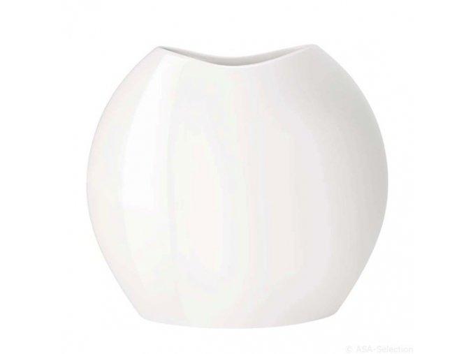 Váza MOON 15 cm bílá