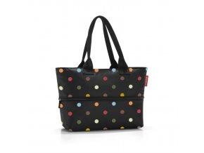 Chytrá taška přes rameno Shopper e1 dots