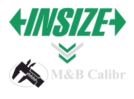 INSIZE = mb calibr
