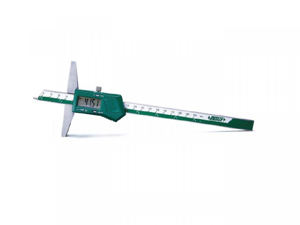 Digitální hloubkoměr s předním dotekem Insize 200 mm 1143 200
