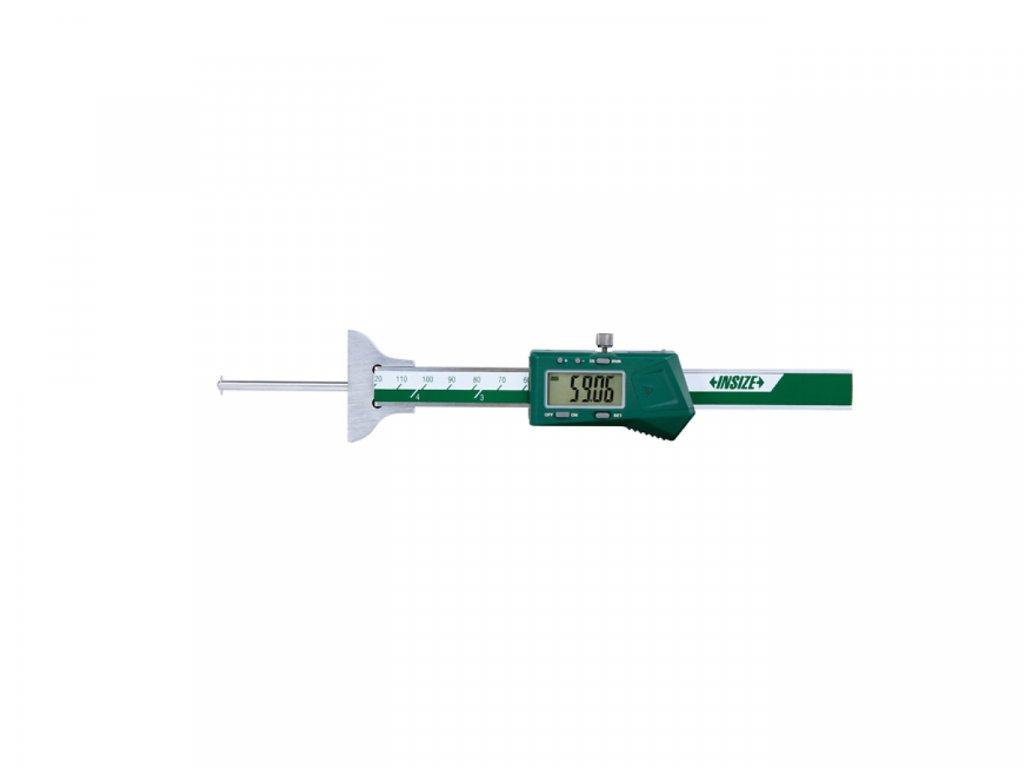 Digitální hloubkoměr s výměnnými doteky INSIZE 100 mm 1148 100