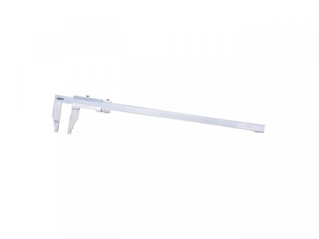 pevne-posuvne-meritko-600-mm-insize-se-stupnici-0-05-1-128--s-celistmi-150-mm