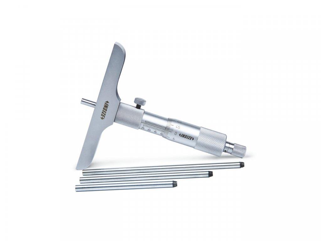 Mikrometrický hloubkoměr INSIZE 75 mm 3240 75