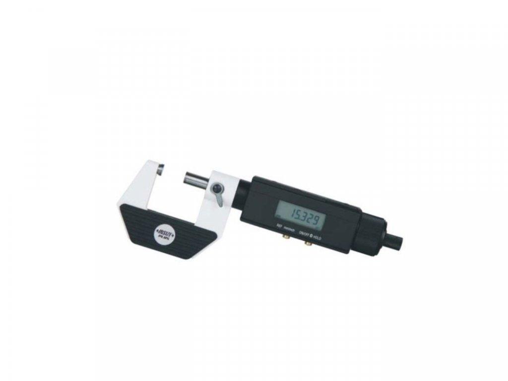 3631 25 digitalni mikrometr s neotacivou osou insize 0 25 mm