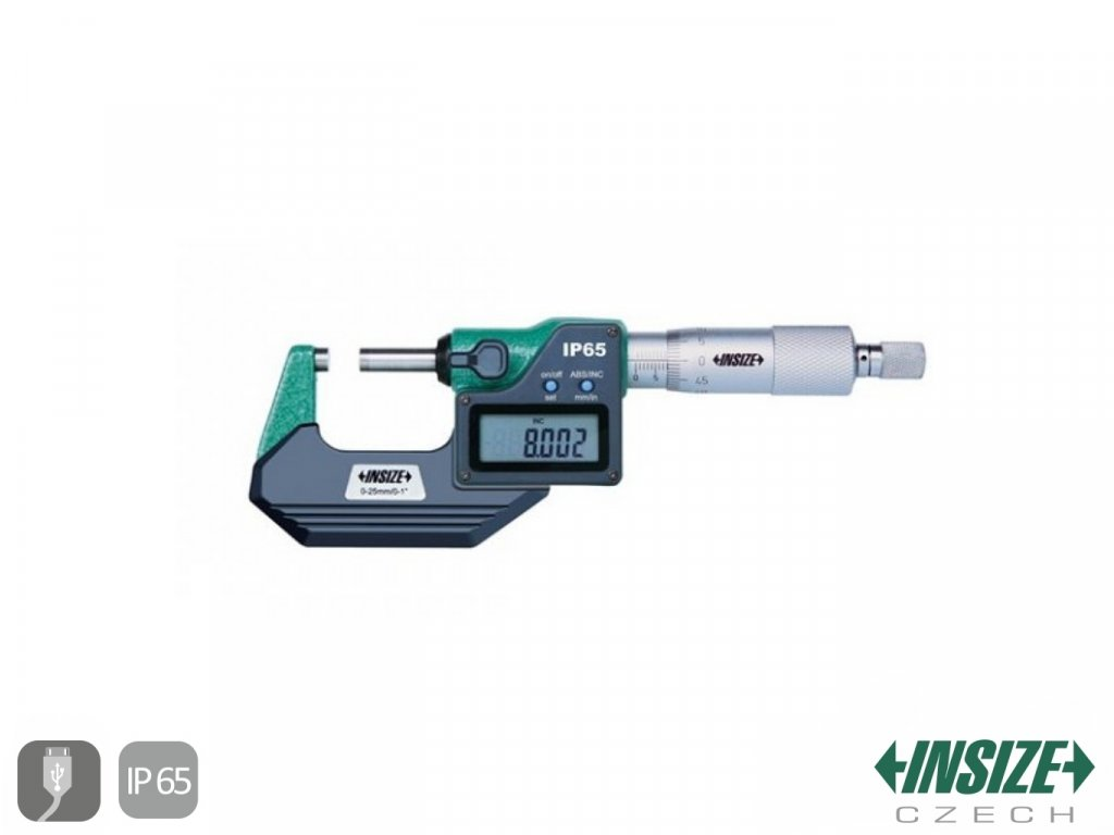 34407 digitalni mikrometr vnejsi s datovym vystupem ip65 150 175 mm insize