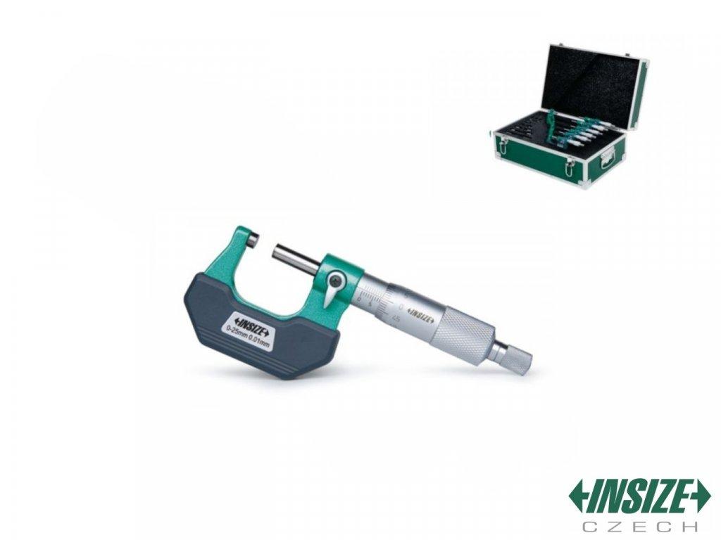 3202 1506A Set vnějších třmenových mikrometrů INSIZE 0 150 mm