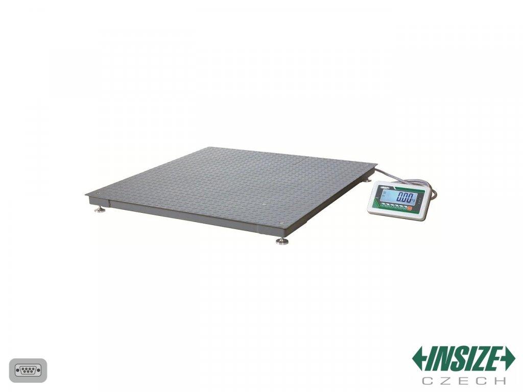 Podlahová váha INSIZE 1t 8401 1T1212