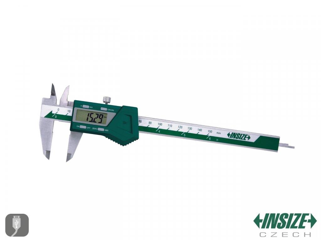 1103 150 Digitální posuvné měřítko INSIZE Absolute bez posuvoveho kolecka 150 mm