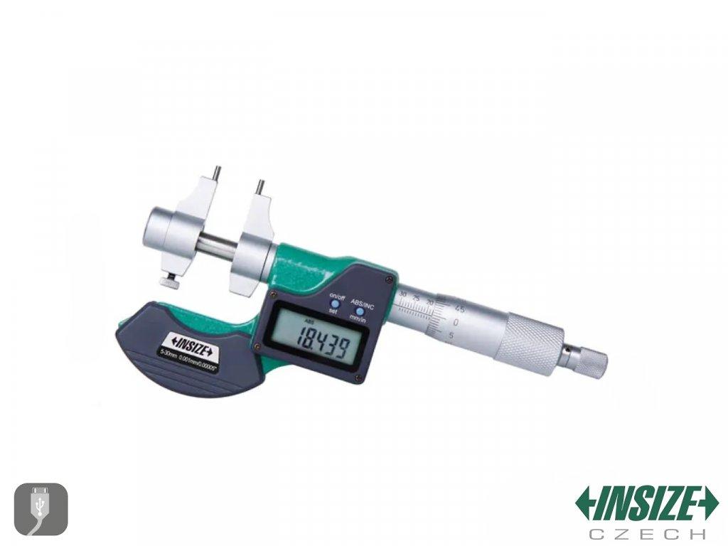 3520 30 Digitální třmenový mikrometr pro vnitřní měření INSIZE 5 30 mm