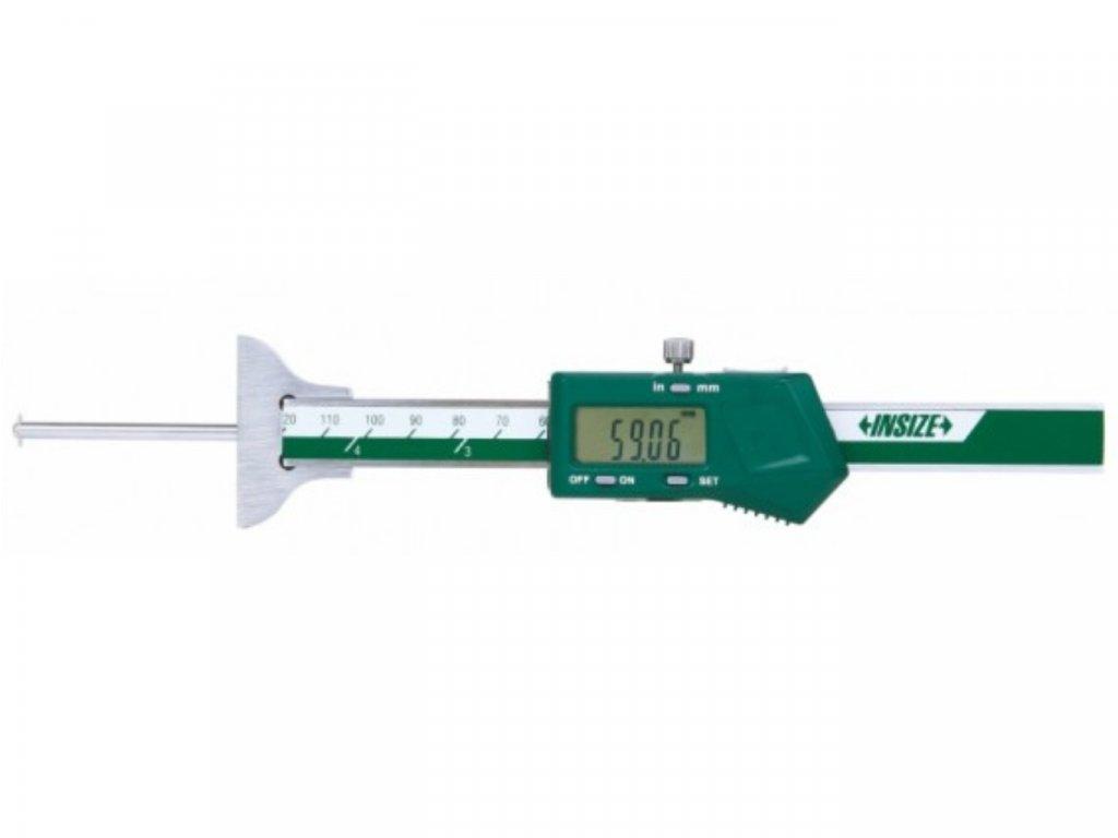 Insize-1148-100-digitális-mélységmérő-kerek-mérőruddal