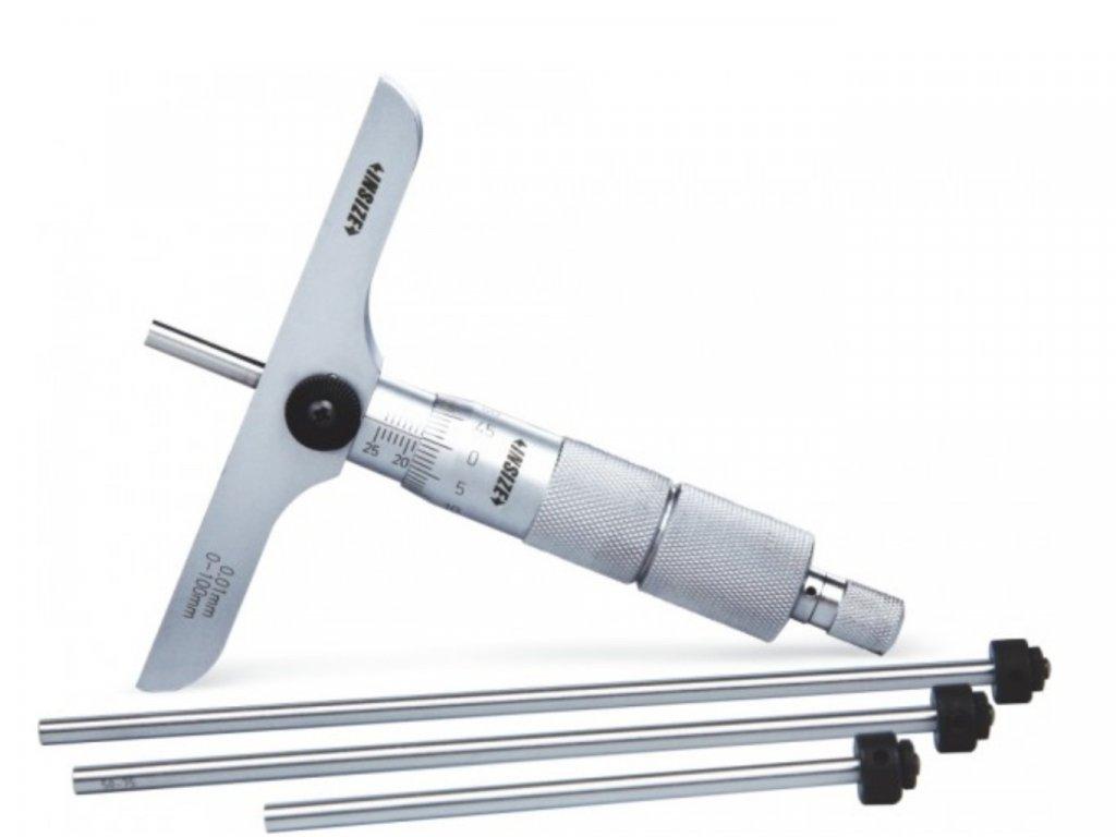 Insize-3241-100-mélységmérő-mikrométer