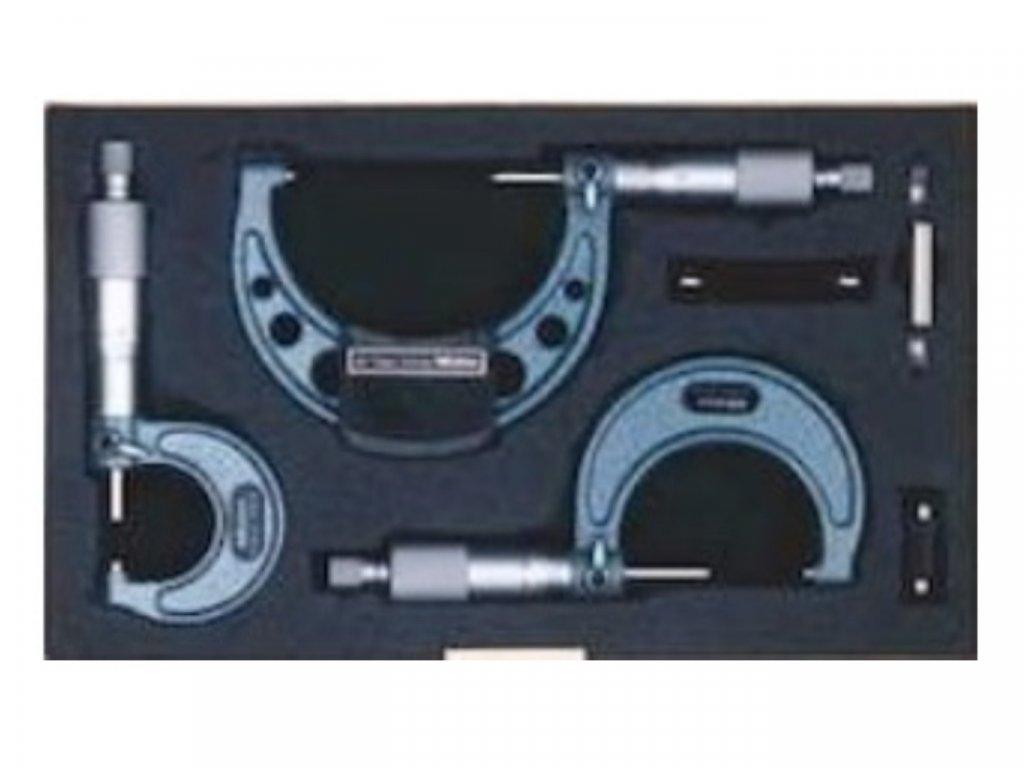 Insize-3210-1004A-1µm-külső-mikrométer-készlet