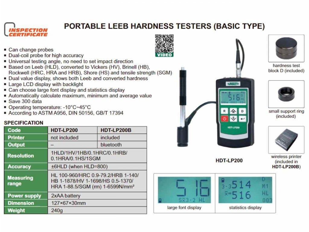 Insize-HDT-LP200-keménségmérő