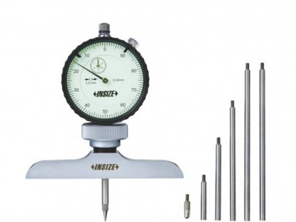 Insize-2342-202-mérőórás-mélységmérő