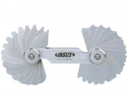 Insize-4801-17-rádiusz-mérő-sablon