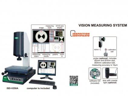 Insize-ISD-V250-Optikai-mérőgép-adatai