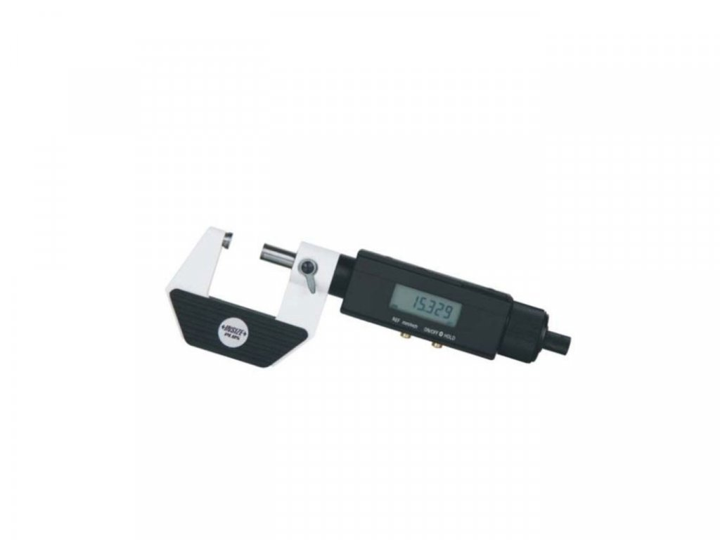 3631-125 insize Digitální mikrometr s neotáčivou osou INSIZE 125-150 mm